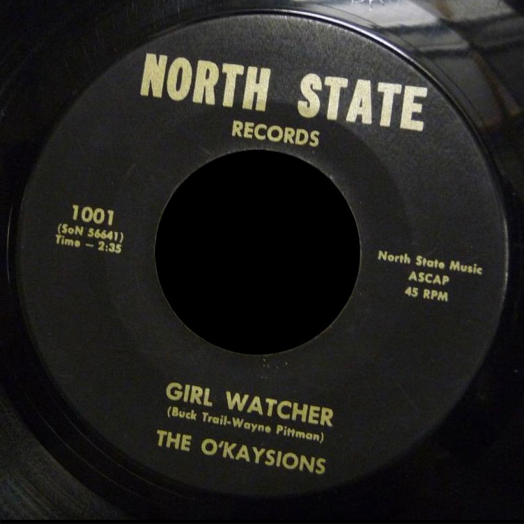Ou0027Kaysions North State 45 Girl Watcher