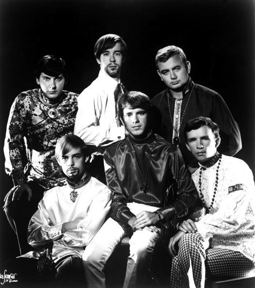 O'Kaysions (second generation, ca. 1968) Top row L-R: Jimmy Hinnant (bass); Jimmy Spiedel (sax); Bruce Joyner (drums). Bottom row L-R: Ronnie Turner (trumpet); Donnie Weaver (lead vocals/keyboards); Wayne Pittman (vocals/guitar).