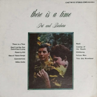 Pat and Barbara Chetwyd LP There Is A Time