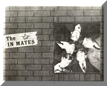 Palladium Records promotional card for the In Mates