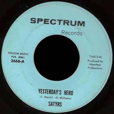 Satyrs Spectrum 45 Yesterday's Hero