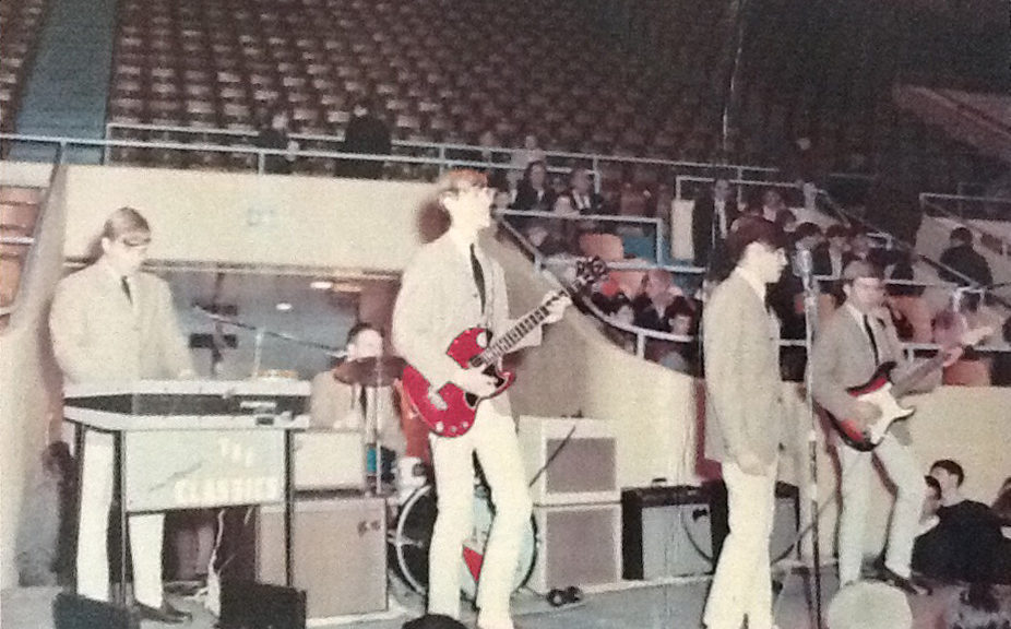 The Classics on stage, possibly in Louisville