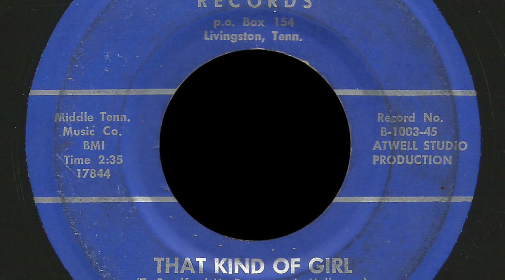 Madhatters Re-Echo 45 That Kind Of Girl
