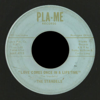 Standels Pla-Me 45 Love Comes Once In A Lifetime