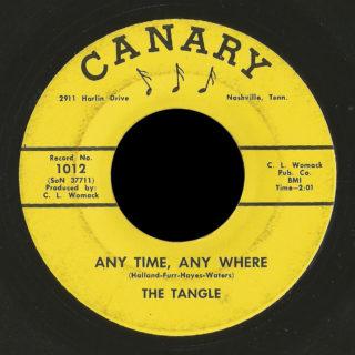 Tangle Canary 45 Any Time, Any Where