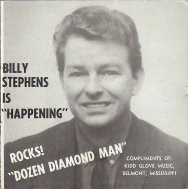 Billy Stephens Kidd Glove PS Dozen Diamond Man