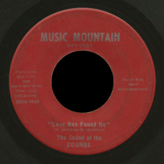 Zounds Music Mountain 45 Love Has Found Me