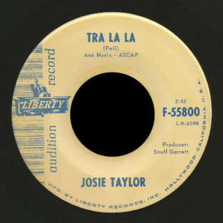 Josie Taylor Liberty 45 Tra La La
