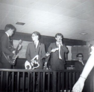 Ronnie & the Sinsashuns on stage