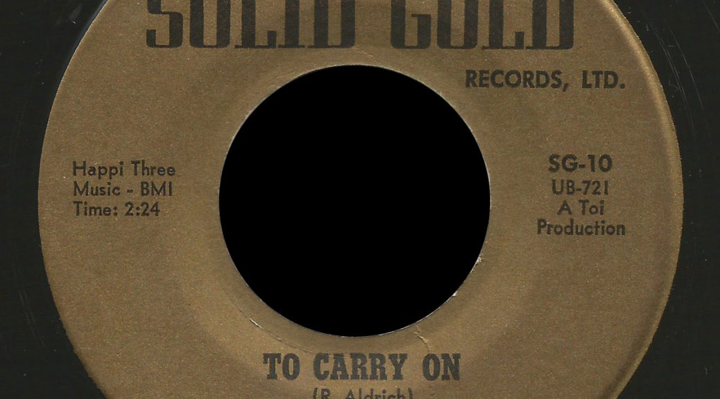 Dirty Elbows Solid Gold 45 To Carry On