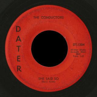 Conductors Dater 45 She Said So