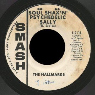 Hallmarks Smash 45 Soul Shakin' Psychedelic Sally