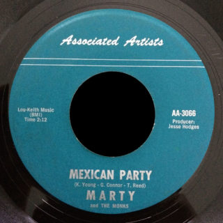 Marty and the Monks Associated Artists 45 Mexican Party