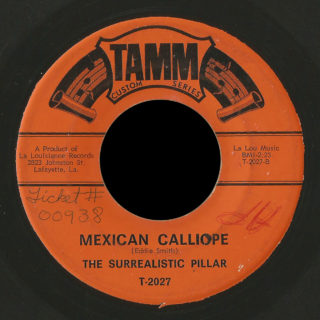 Surrealistic Pillar Tamm 45 Mexican Calliope