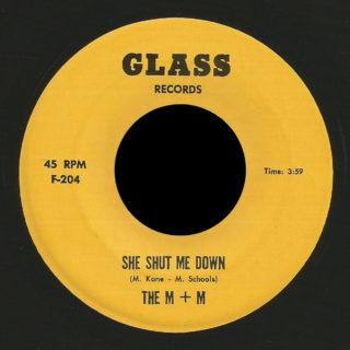 The M + M Glass 45 She Shut Me Down