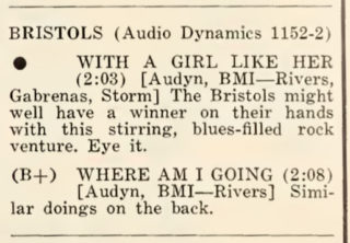 Bristols Cash Box Record Reviews 1967 August 26