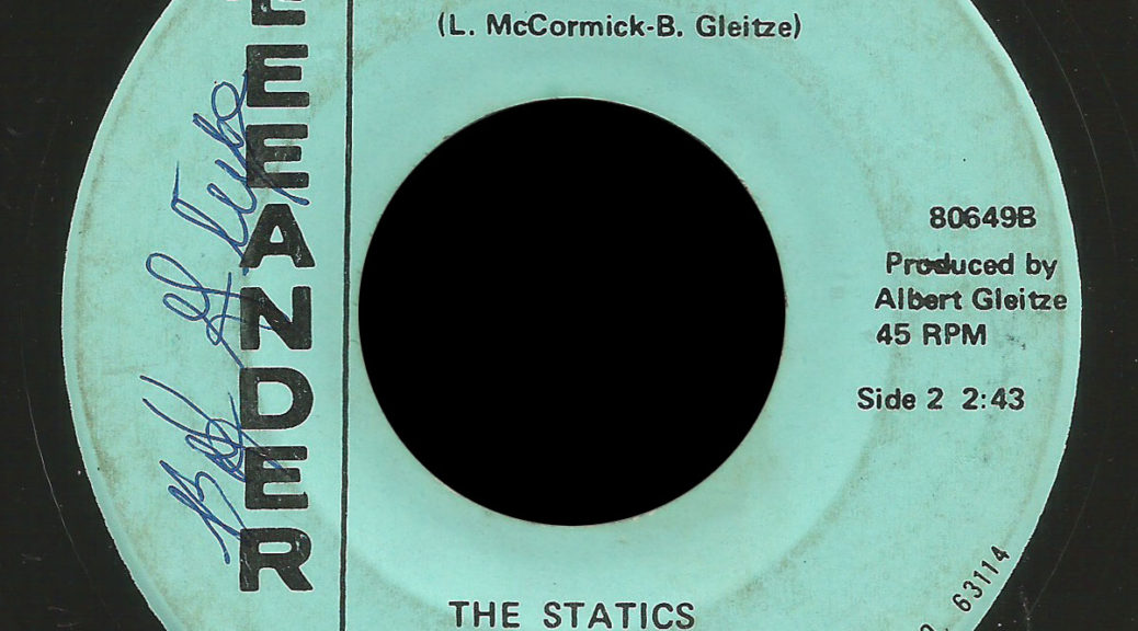 Statics JB Leeander 45 Again and Again