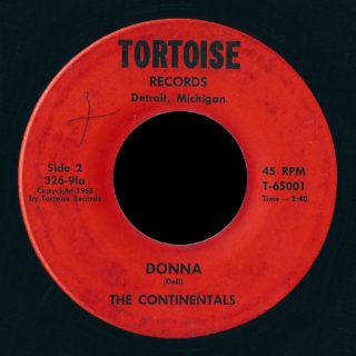 Continentals Tortoise 45 Donna