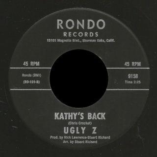 Ugly Z Rondo 45 Kathy's Back