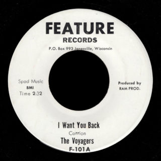 Voyagers Feature 45 I Want You Back