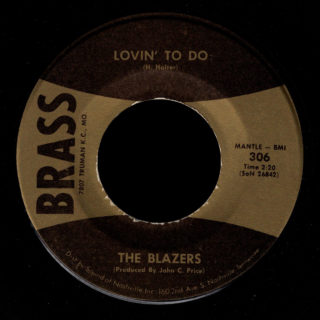 Blazers Brass 45 Lovin' To Do